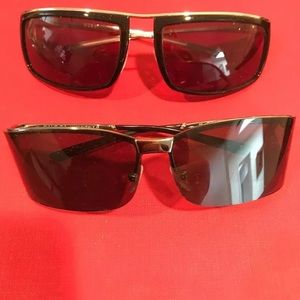 Gucci vintage sunglasses no cases sold as is
